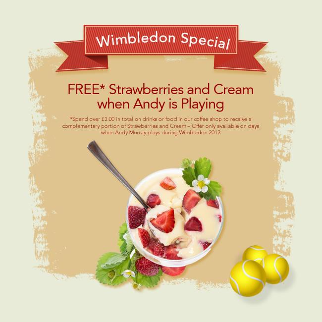 Strawberries & Cream - Wimbledon Special