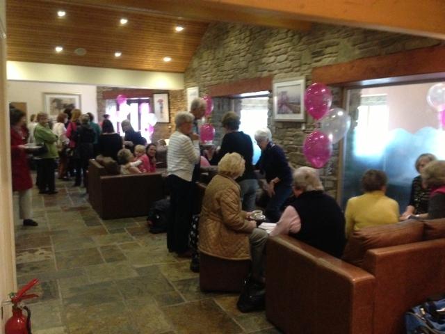 Sally's Big Pink Coffee 'n' Cake Morning