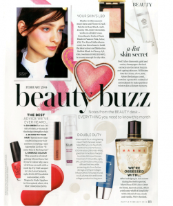 Murad in InStyle Magazine - February Issue