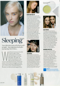 Murad in ELLE Magazine - February Issue