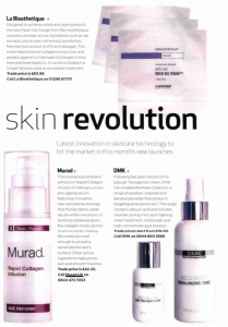 Murad in Professional Beauty - January Issue