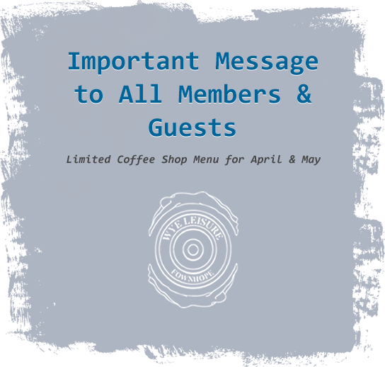 Important Message to all members and Guests